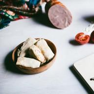 Блинчики с сыром и ветчиной Фото