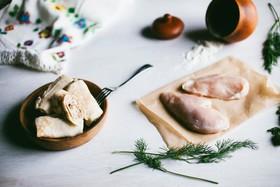 Блинчики с курицей - Фото