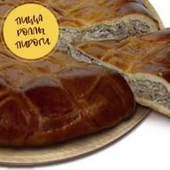 Пирог мясом и рисом Фото