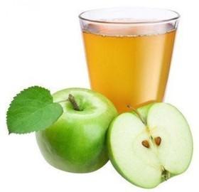 Сок свежевыжатый яблочный - Фото