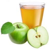 Сок свежевыжатый яблочный Фото