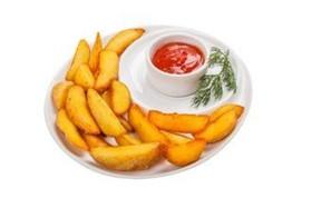 Картофель дольками - Фото
