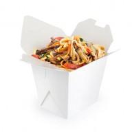 Лапша wok с говядиной Фото