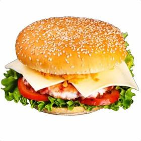 Бургер с курицей - Фото
