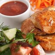 Шашлык из филе куриного Фото