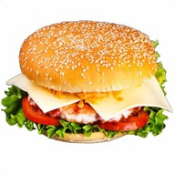 Бургер с бараниной Фото