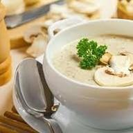 Крем-суп из шампиньонов Фото