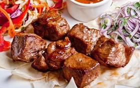 Шашлык из свиной мякоти - Фото
