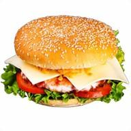 Бургер с говядиной Фото