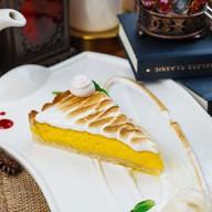 Пирог лимонный с меренгой Фото
