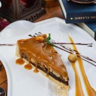 Пирог карамельно-ореховый с фундуком Фото