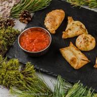 Пирожки с мясом и картофелем Фото