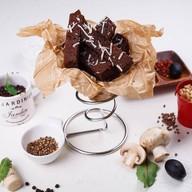 Гренки бородинские со сметанным соусом Фото