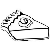 Торт черничный Фото