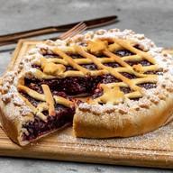 Пирог с брусникой Фото