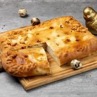 Пирог с картофелем и шпиком Фото