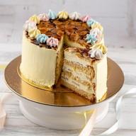 Банановый торт Фото