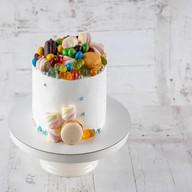 Виноград и дор блю торт Фото