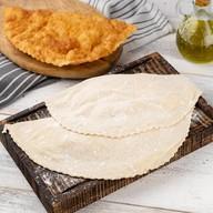 Чебурек большой с картофелем и беконом Фото