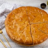 Пицца по-деревенски с курой Фото