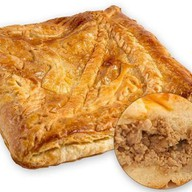 Пирог слоеный с мясом Фото