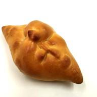 Пирожок постный с картофелем и луком Фото