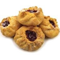 Печенье с брусничной начинкой Фото