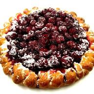 Пирог постный сладкий с вишней Фото