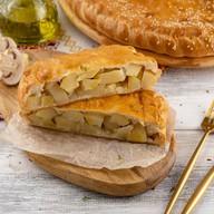 Пирог с картофелем и грибами постный Фото