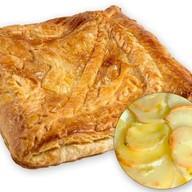 Пирог слоеный с картофелем Фото