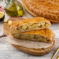 Пирог с картофелем (сметанно-дрожжевой) Фото
