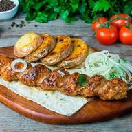 Кебаб из свинины (ланч) Фото