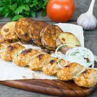 Кебаб из курицы (ланч) Фото