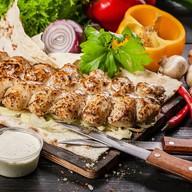 Кебаб из курицы (курица+свинина) Фото
