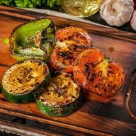 Шашлык из свежих овощей Фото