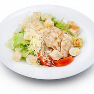 Цезарь с цыпленком стандартная порция Фото
