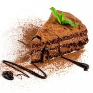 Бельгийский шоколад торт (темный) Фото