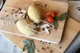 Зразы картофельные с грибами (самовывоз) - Фото
