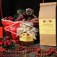 Набор с чаем луговым и медом Фото