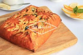 Пирог с овощами-гриль - Фото