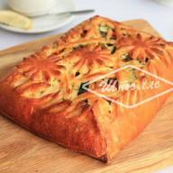 Пирог с овощами-гриль Фото