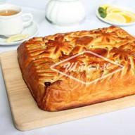 Пирог с яблоком и брусникой (за сутки) Фото