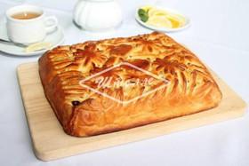 Пирог с яблоком и брусникой (за сутки) - Фото
