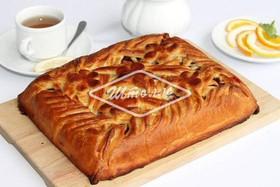 Пирог с брусникой (заказ за сутки) - Фото
