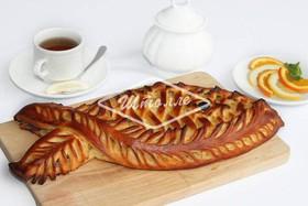 Пирог с сельдью (заказ за сутки) - Фото