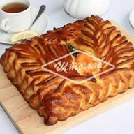Пирог с семгой (заказ за 1 день) Фото