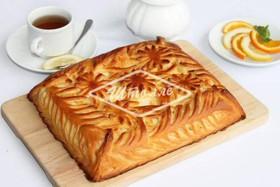 Пирог с творогом (заказ за сутки) - Фото