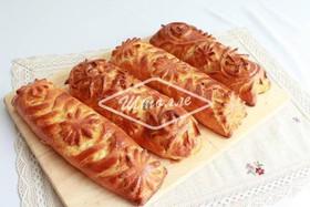 Сет из пирожков с судак/зубатка и творог - Фото