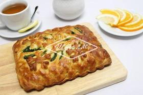 Пирог с индейкой, шпинатом и сыром - Фото