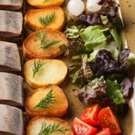 Спинка сельди с картофелем BBQ Фото